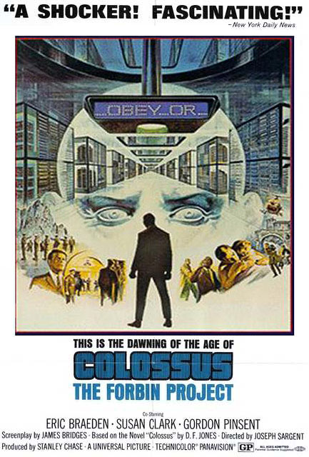 Colossus: The Forbin Project kapak