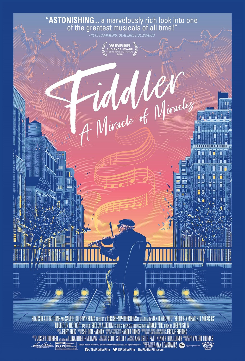 Fiddler: A Miracle of Miracles kapak