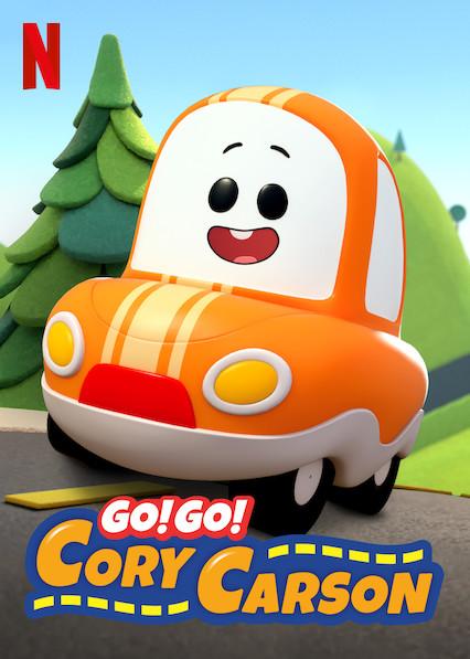 Go! Go! Cory Carson kapak