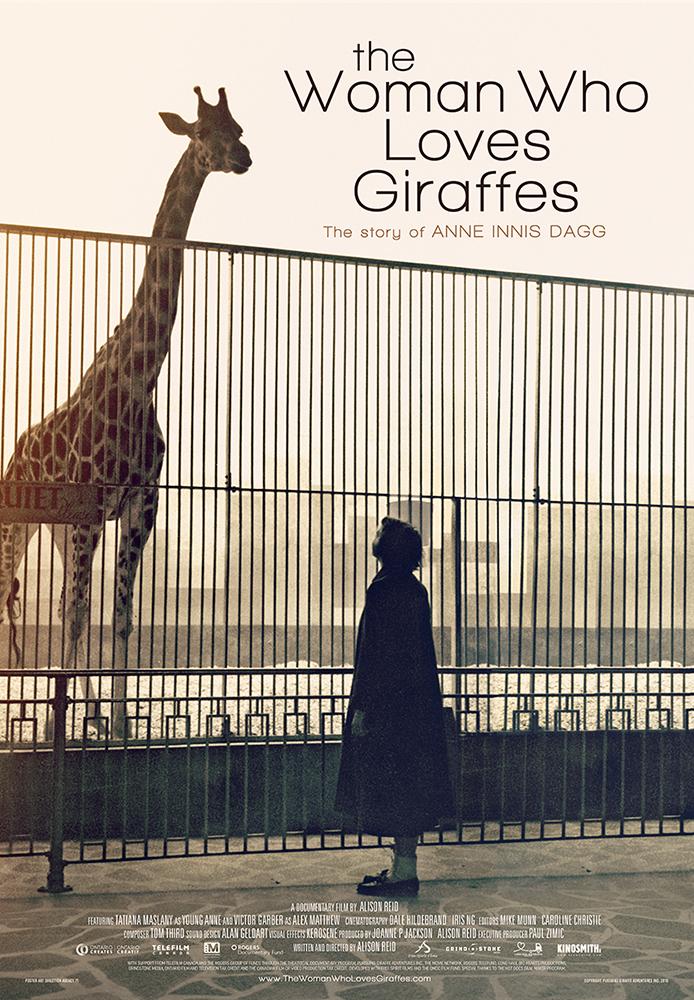 The Woman Who Loves Giraffes kapak