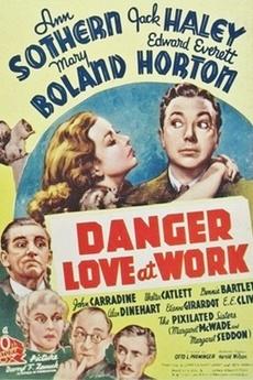 Danger - Love at Work kapak