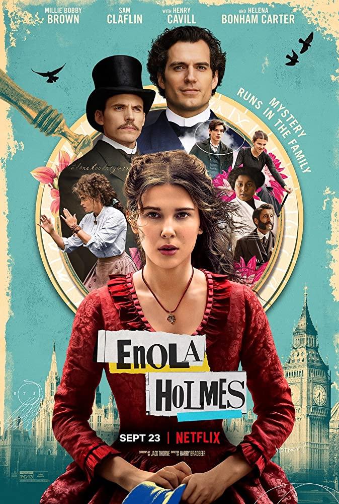 Enola Holmes kapak