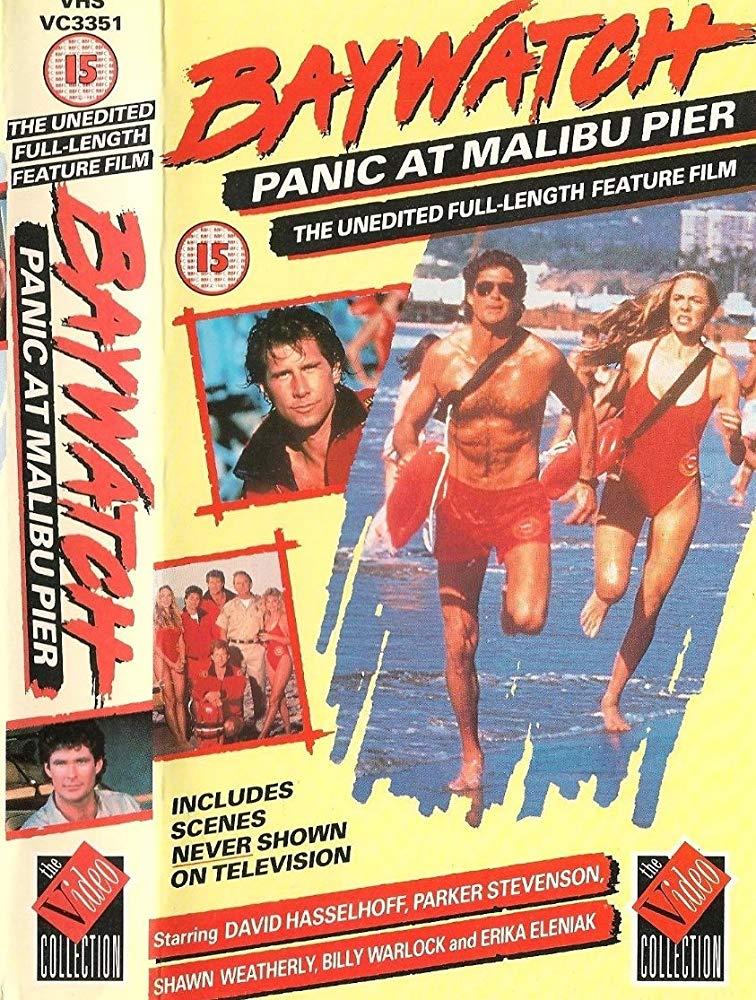 Baywatch: Panic at Malibu Pier kapak