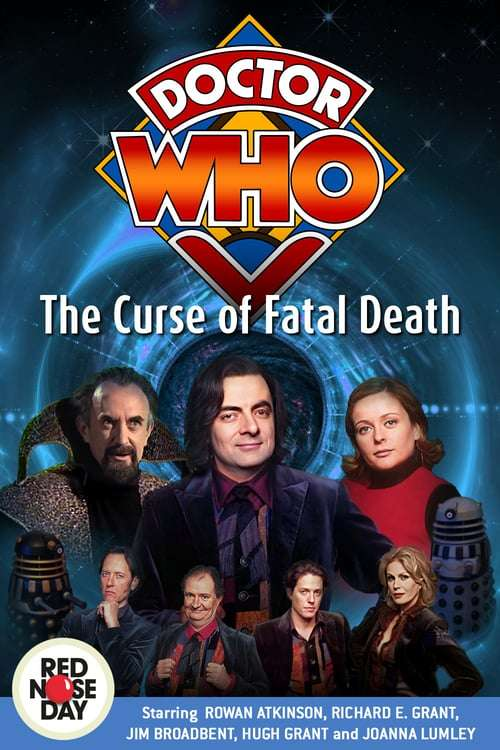 Comic Relief: Doctor Who - The Curse of Fatal Death kapak