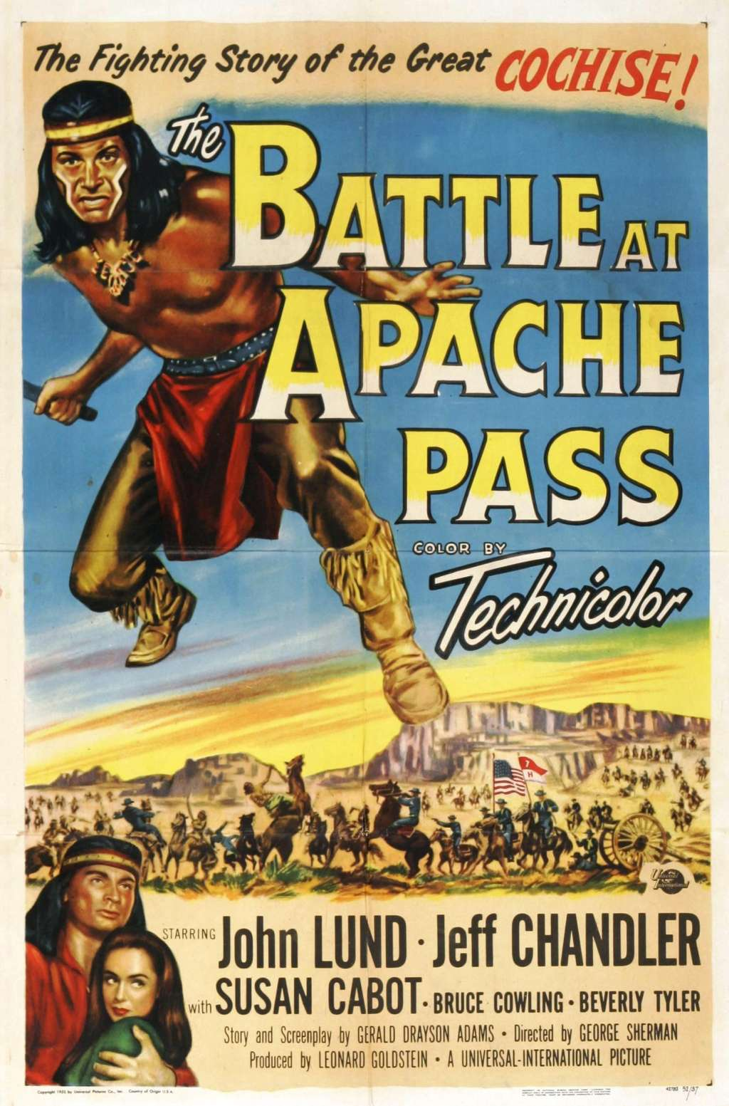 The Battle at Apache Pass kapak