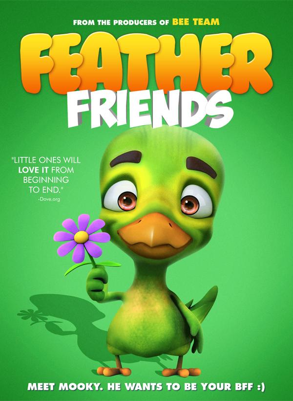 Feather Friends kapak