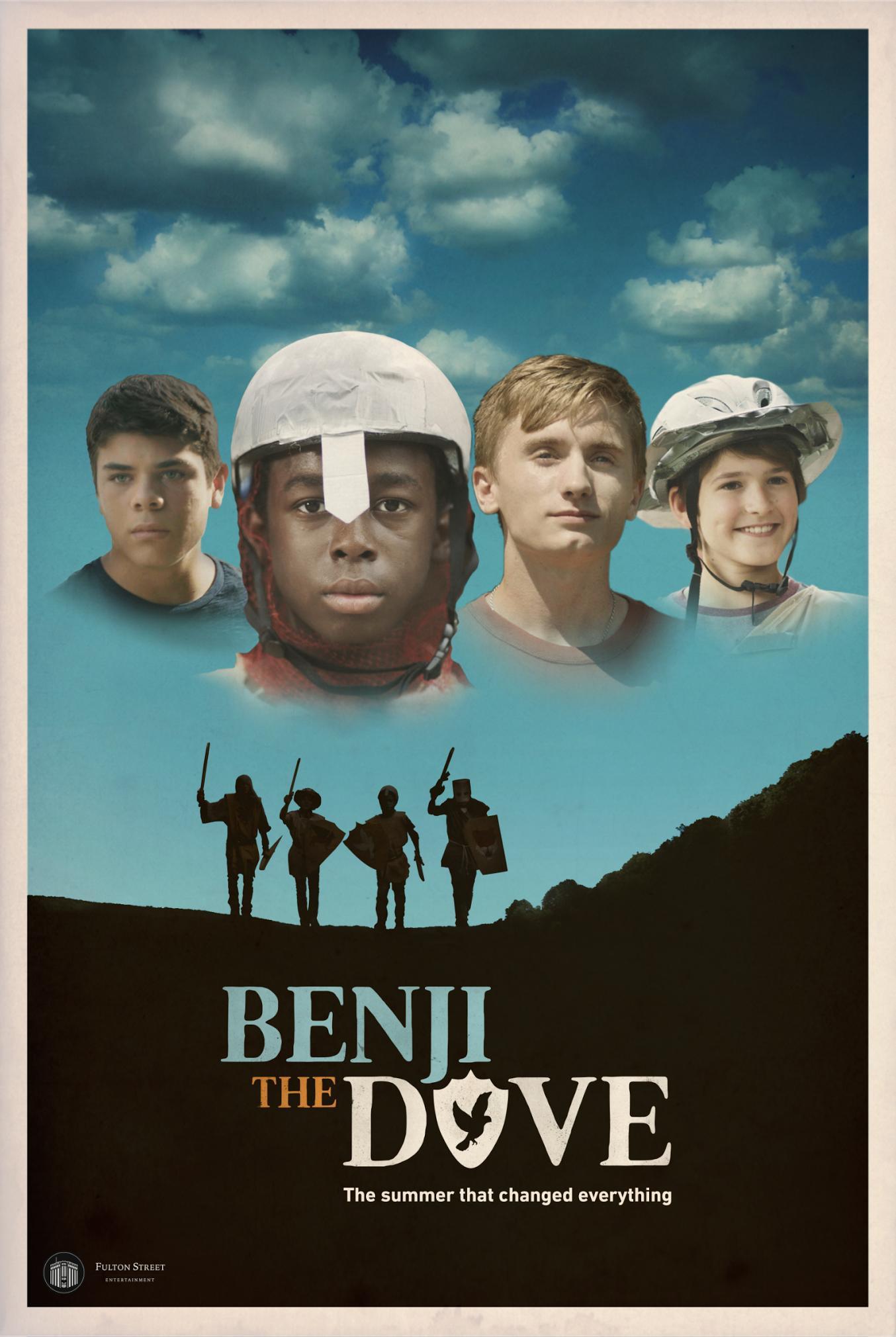 Benji the Dove kapak