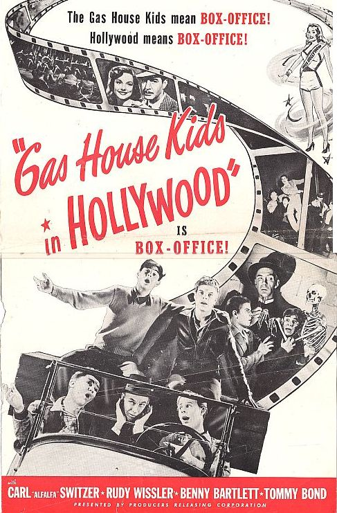 The Gas House Kids in Hollywood kapak