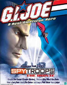 G.I. Joe: Spy Troops the Movie kapak