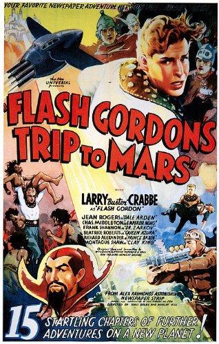 Flash Gordon's Trip to Mars kapak