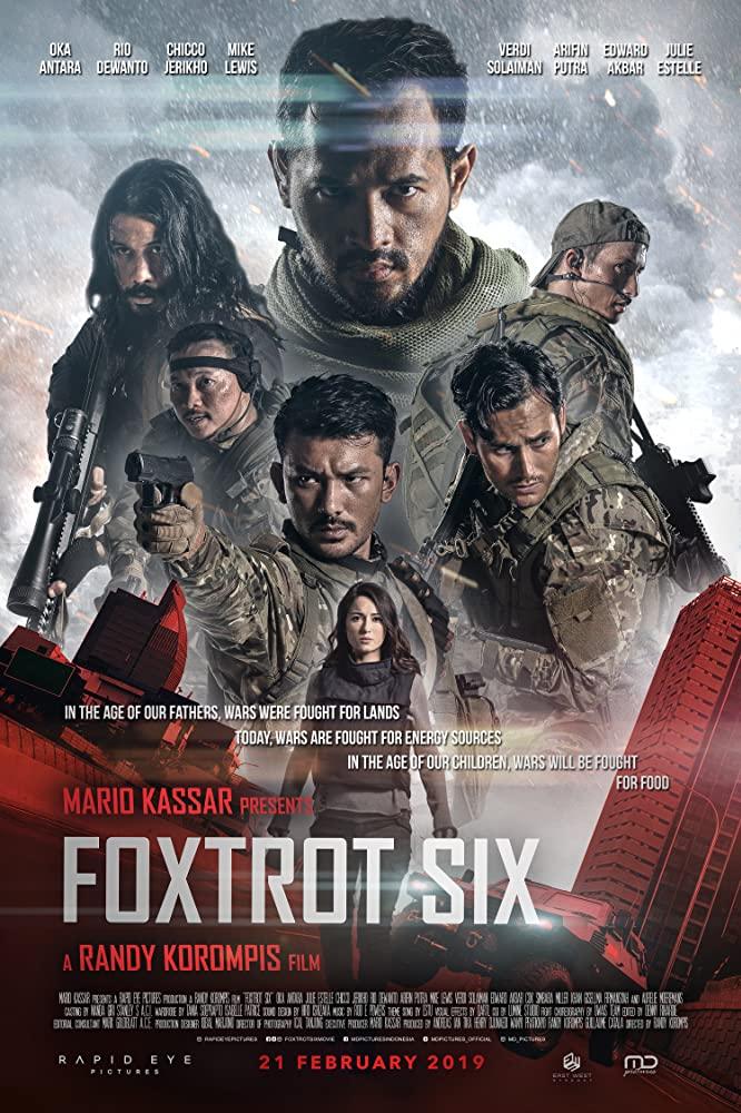 Foxtrot Six kapak