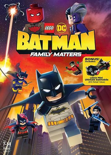 LEGO DC: Batman - Family Matters kapak