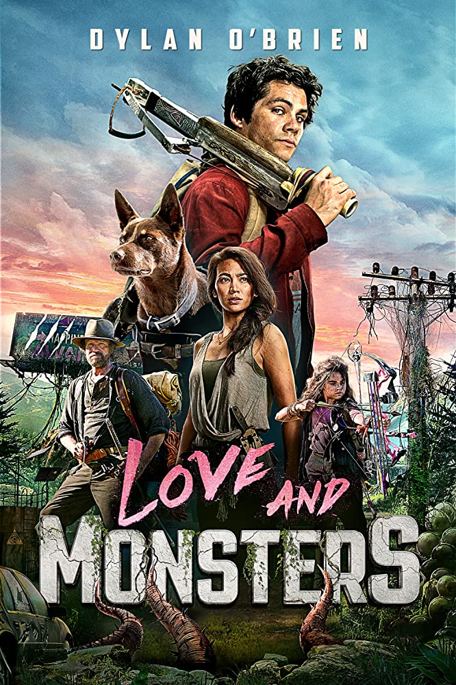 Love and Monsters kapak