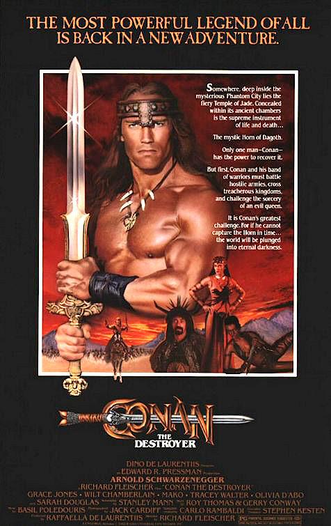 Conan the Destroyer kapak