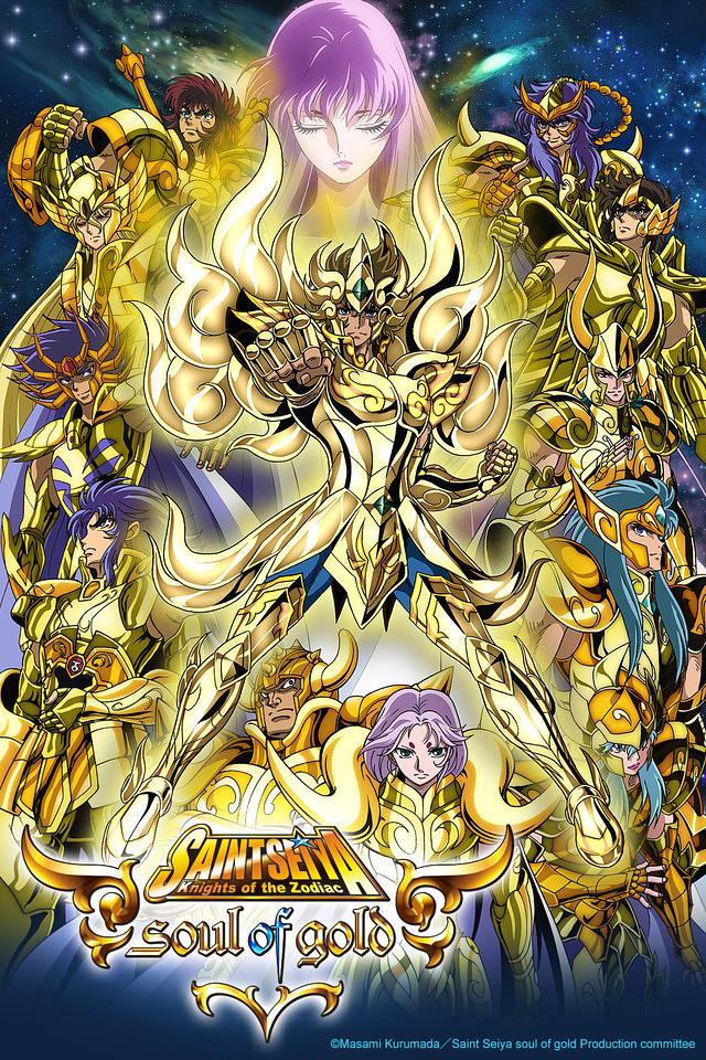 Saint Seiya: Soul of Gold kapak