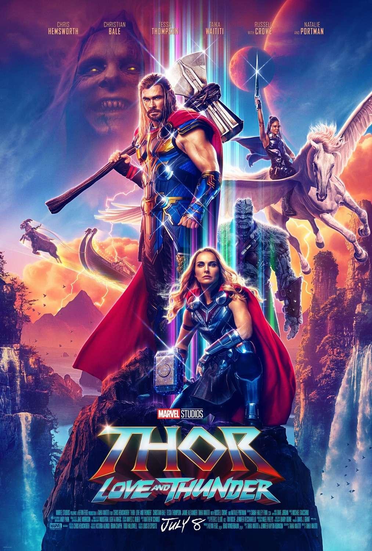Thor: Love and Thunder kapak