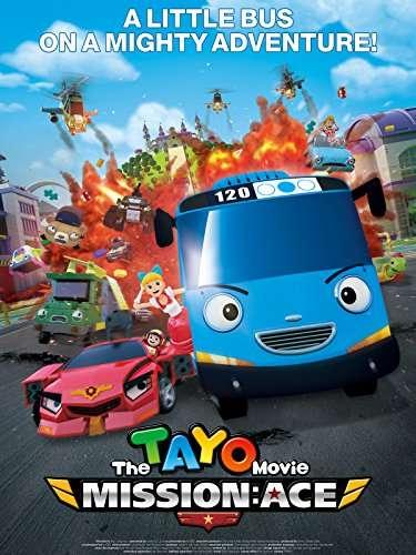 The Tayo Movie: Mission Ace kapak