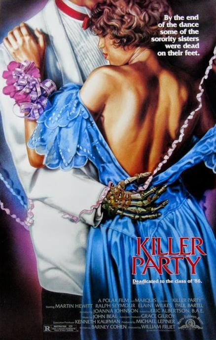 Killer Party kapak