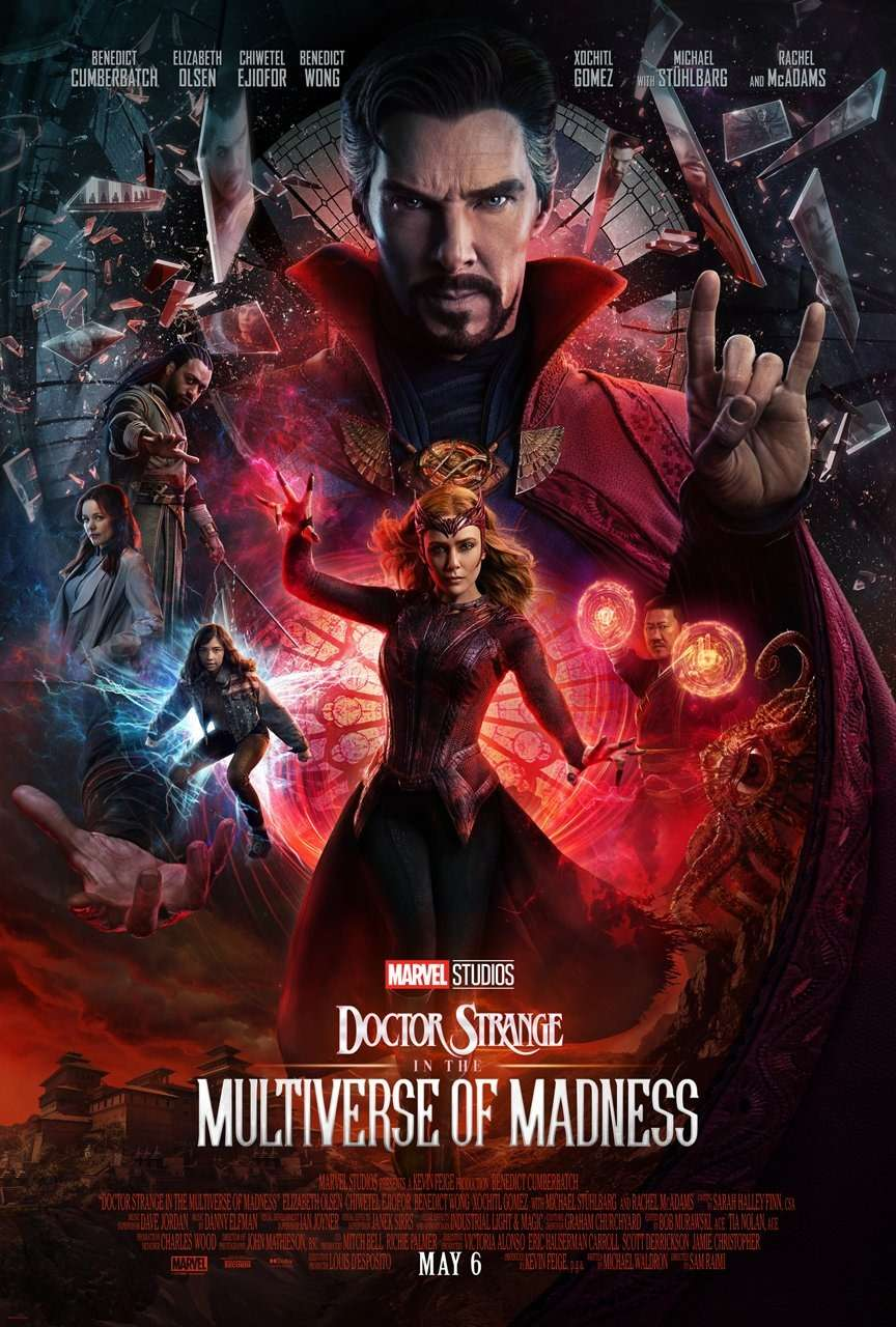 Doctor Strange in the Multiverse of Madness kapak