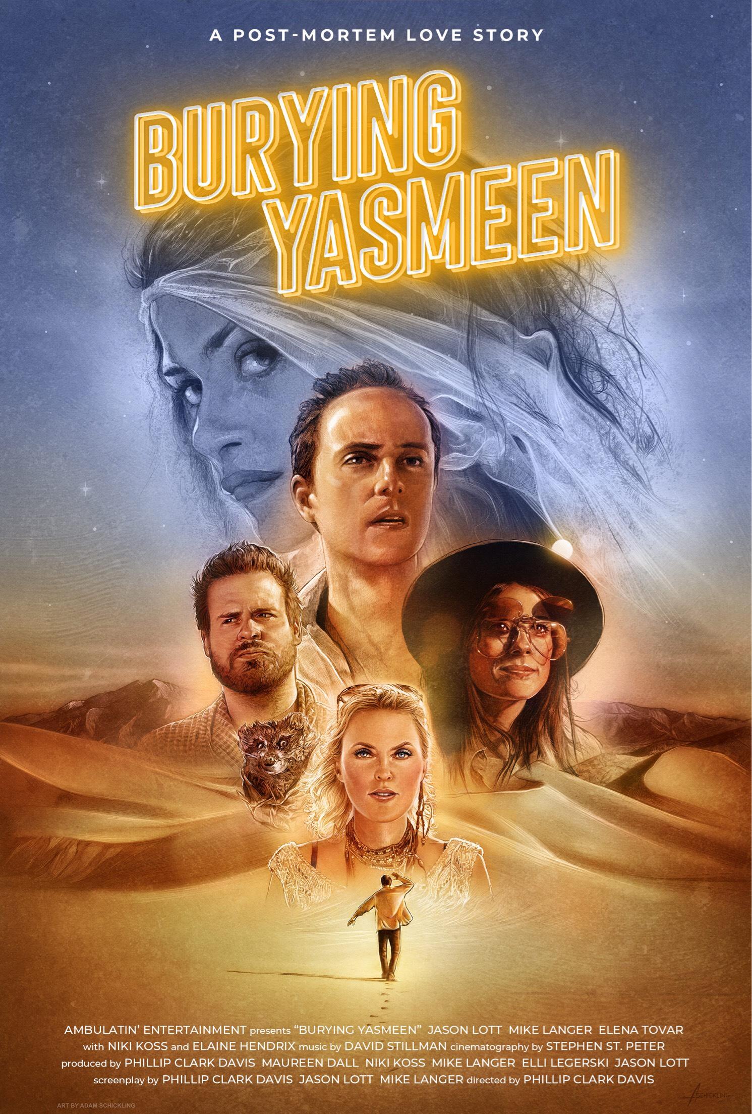 Burying Yasmeen kapak