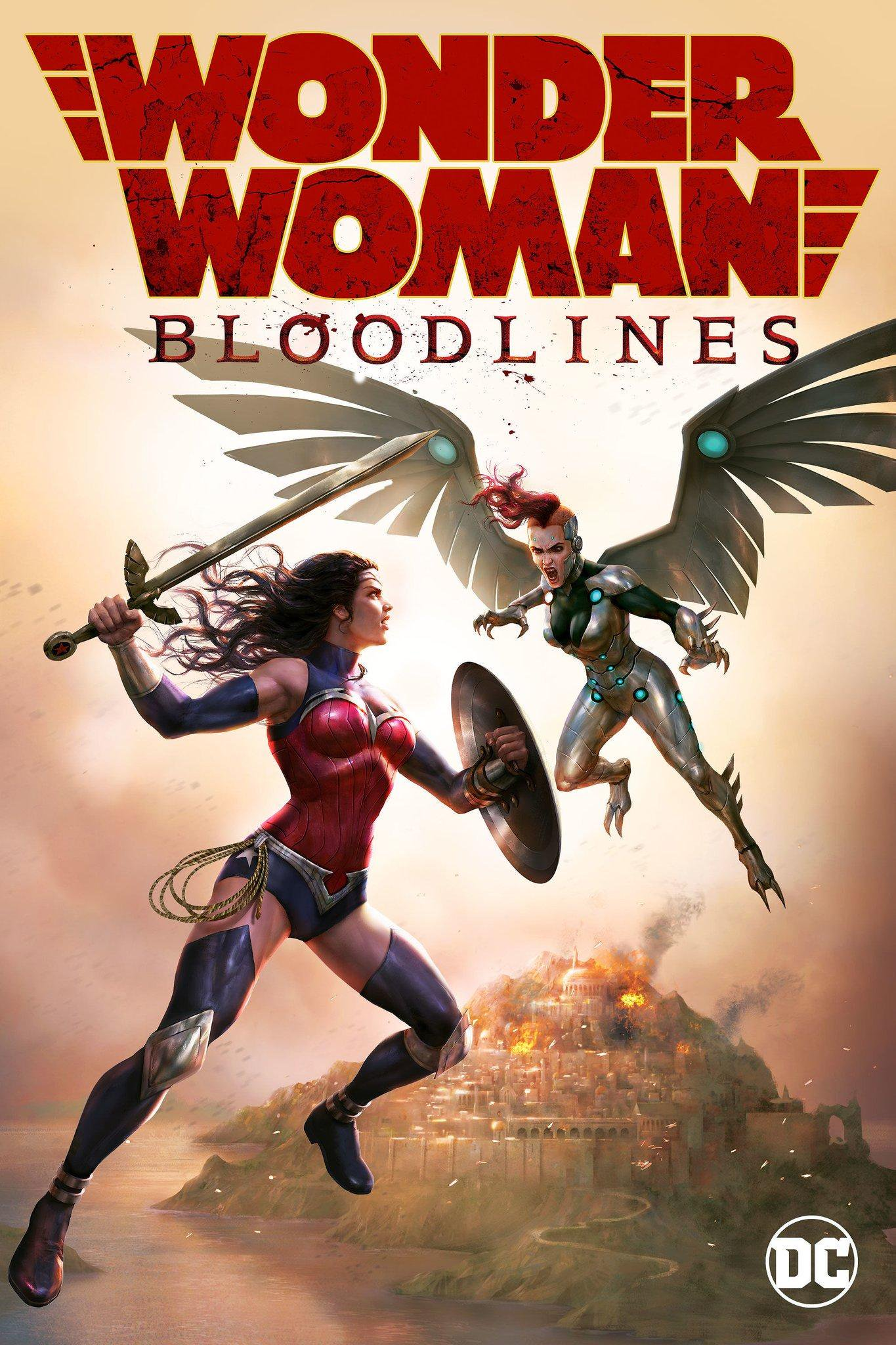 Wonder Woman: Bloodlines kapak