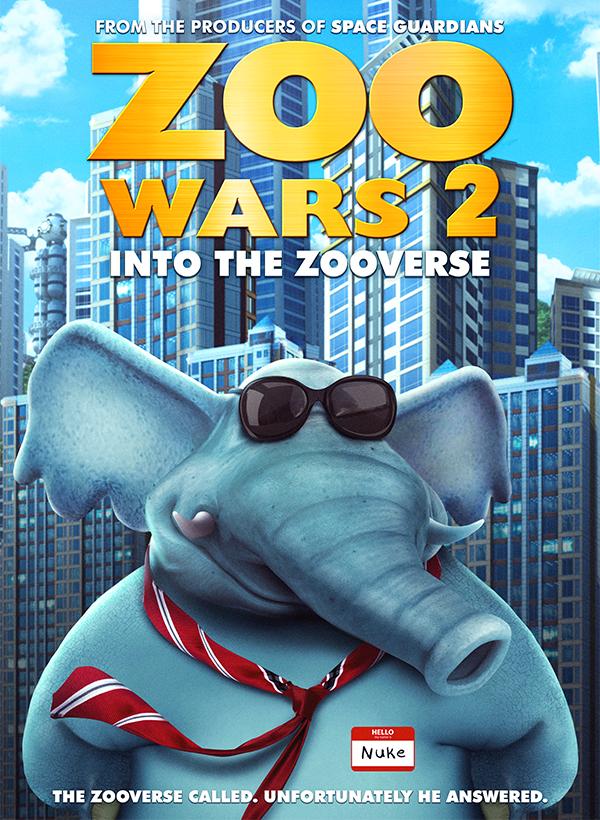 Zoo Wars 2 kapak