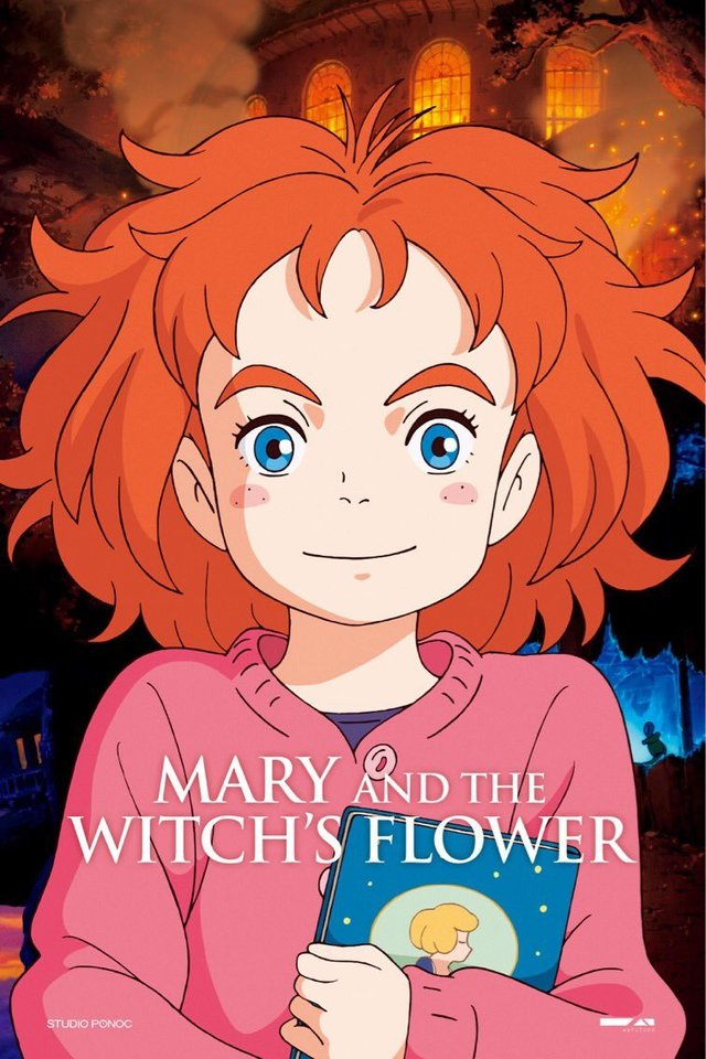 Mary and the Witch's Flower kapak