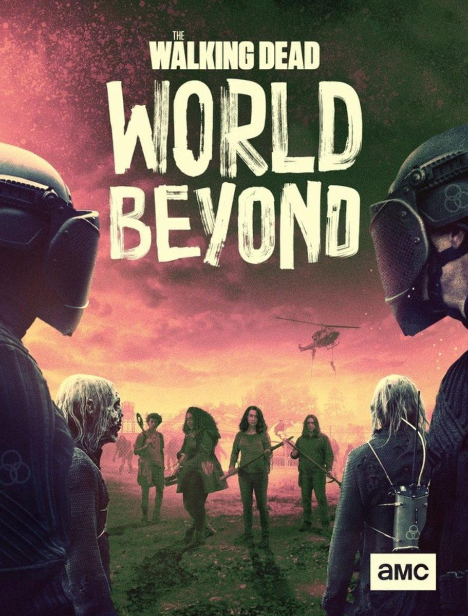 The Walking Dead: World Beyond kapak