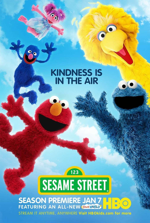 Sesame Street kapak