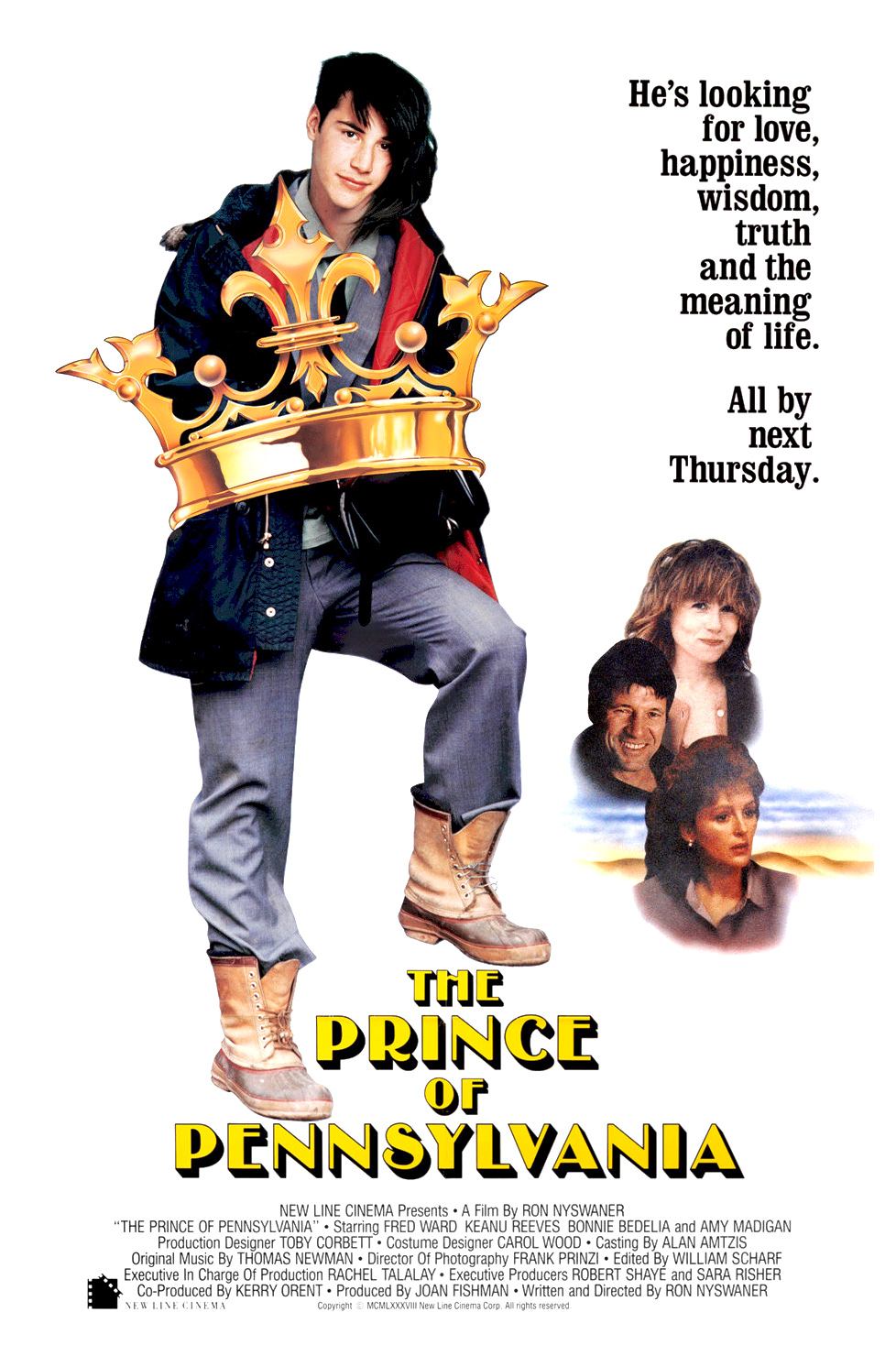 The Prince of Pennsylvania kapak