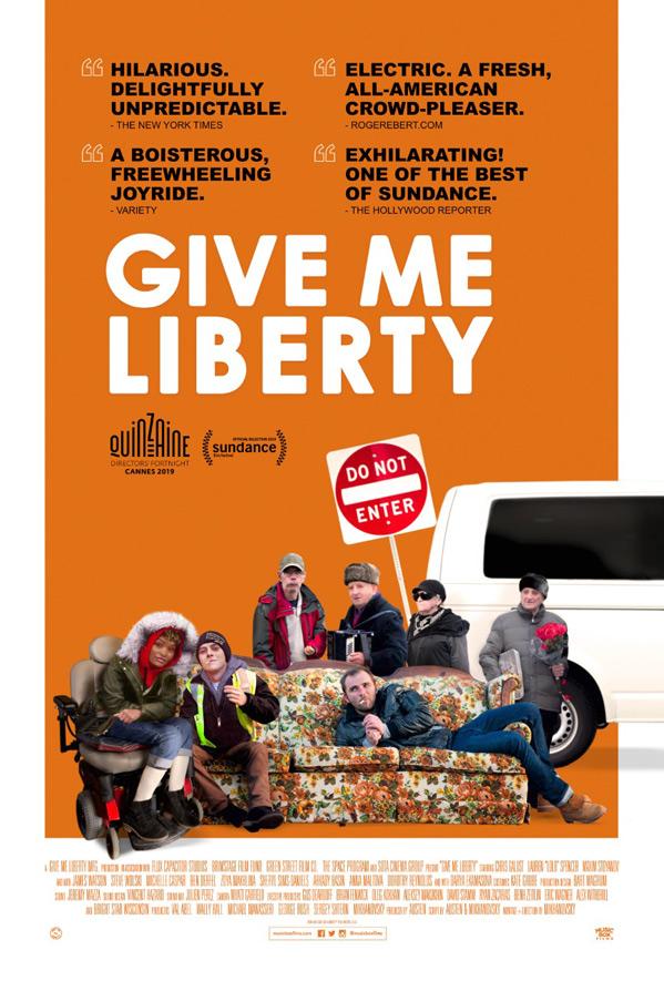 Give Me Liberty kapak