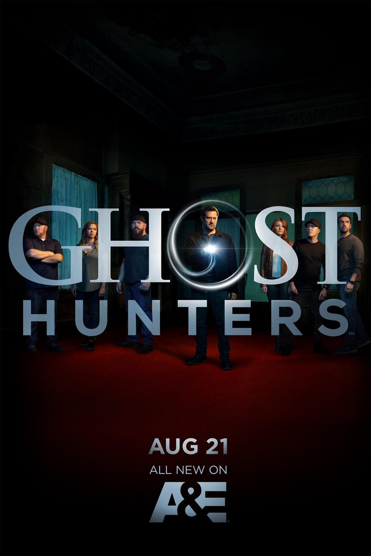 Ghost Hunters kapak