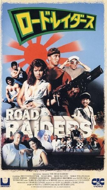 The Road Raiders kapak