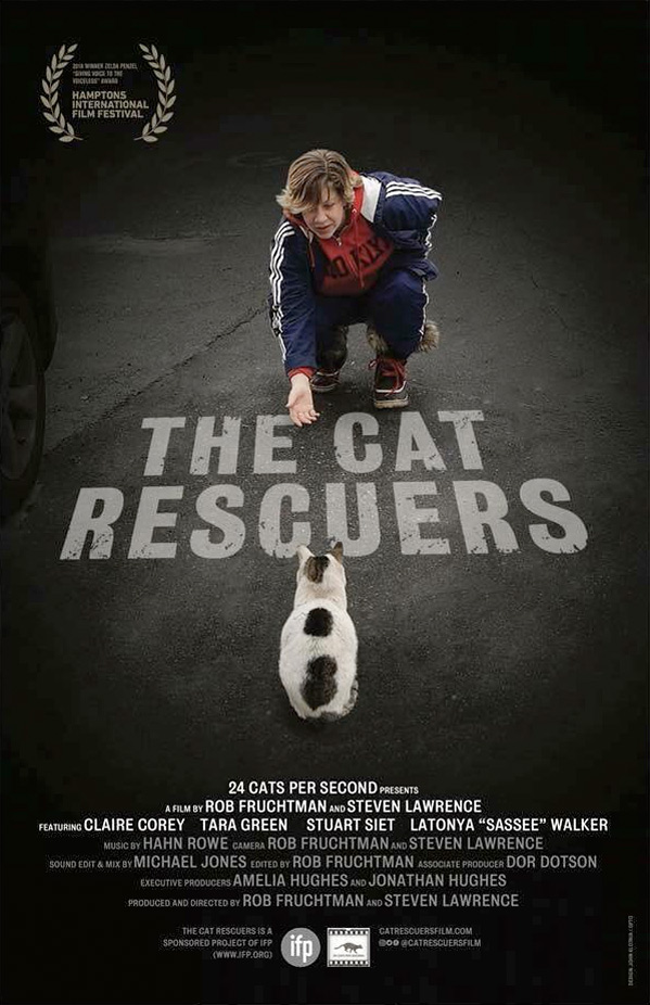 The Cat Rescuers kapak