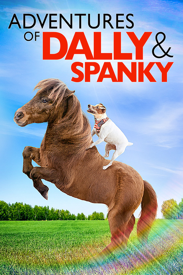 Adventures of Dally & Spanky kapak