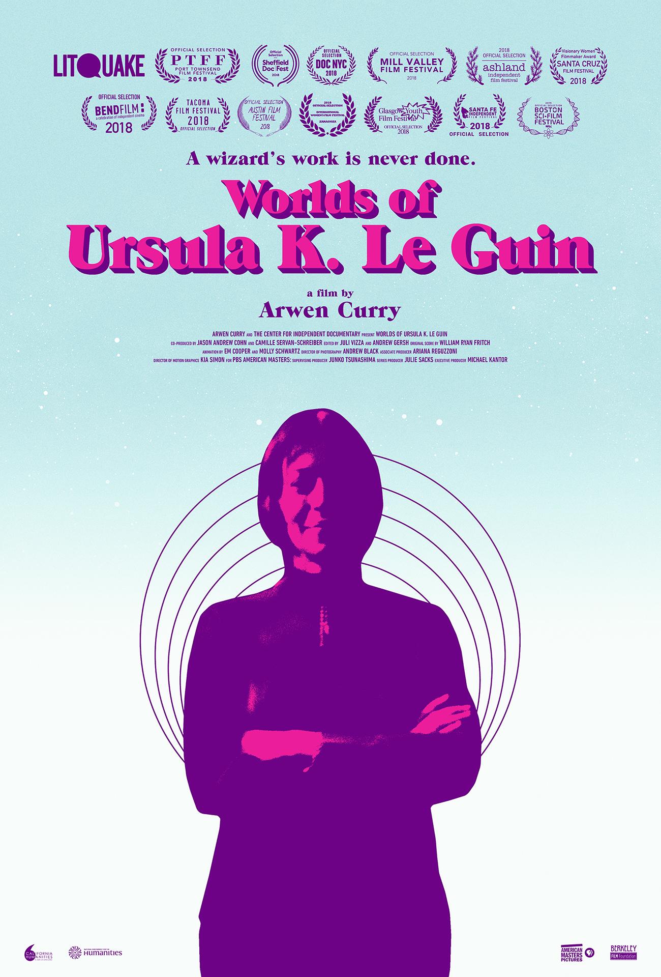 Worlds of Ursula K. Le Guin kapak
