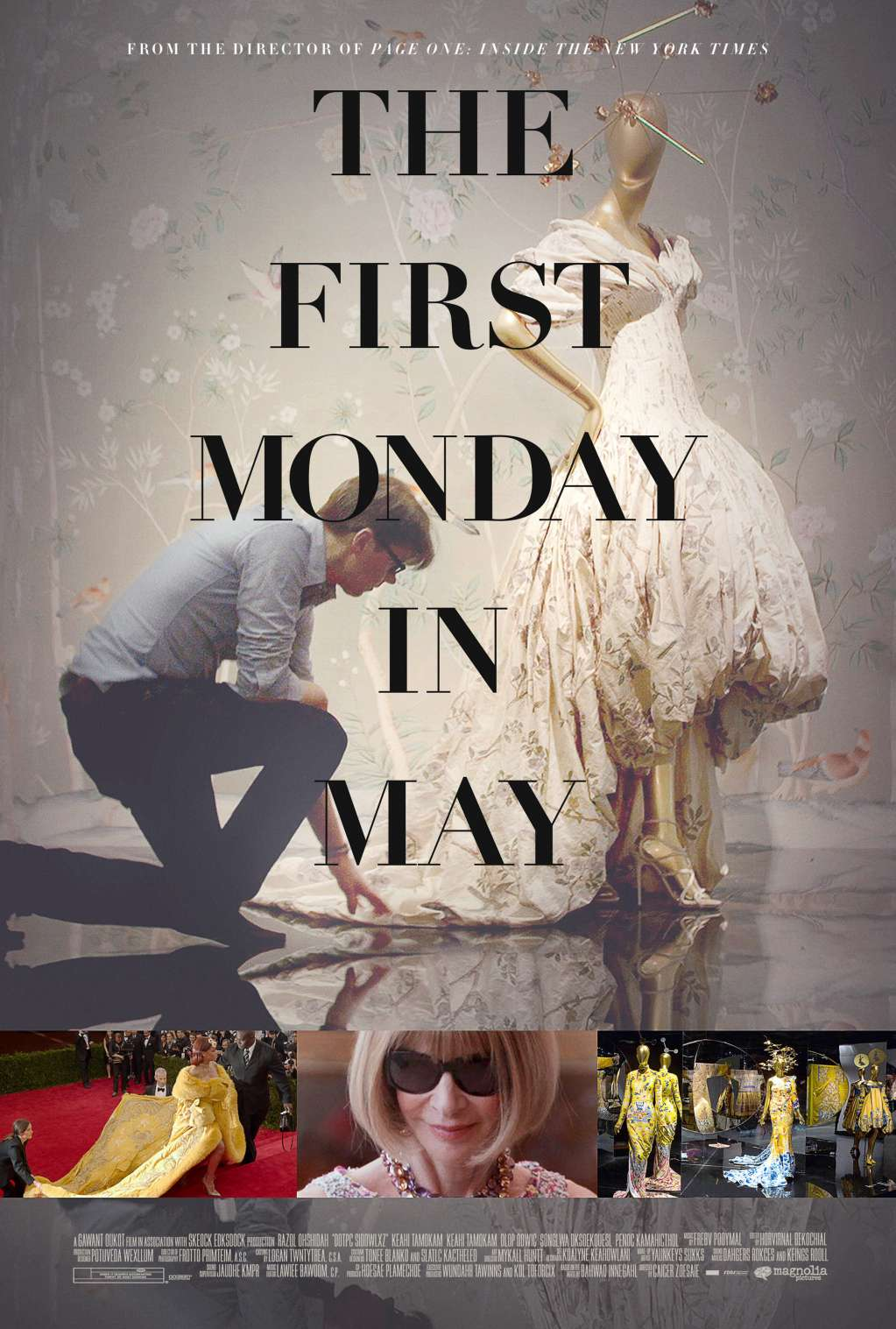 The First Monday in May kapak