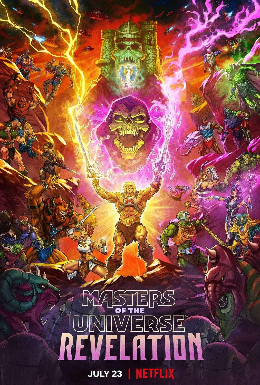 Masters of the Universe: Revelation kapak