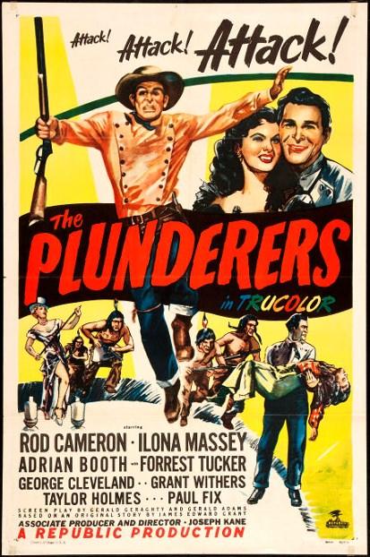 The Plunderers kapak