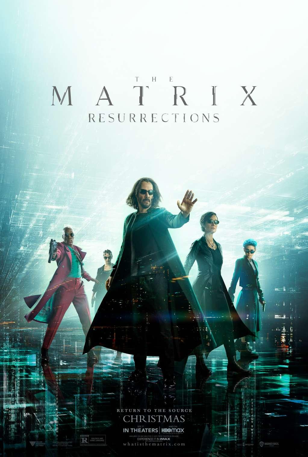 The Matrix Resurrections kapak