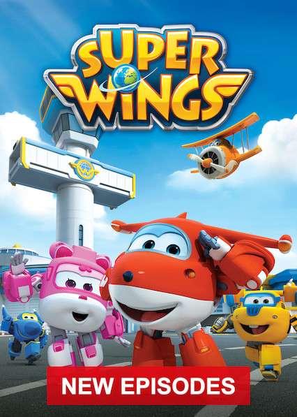 Super Wings! kapak