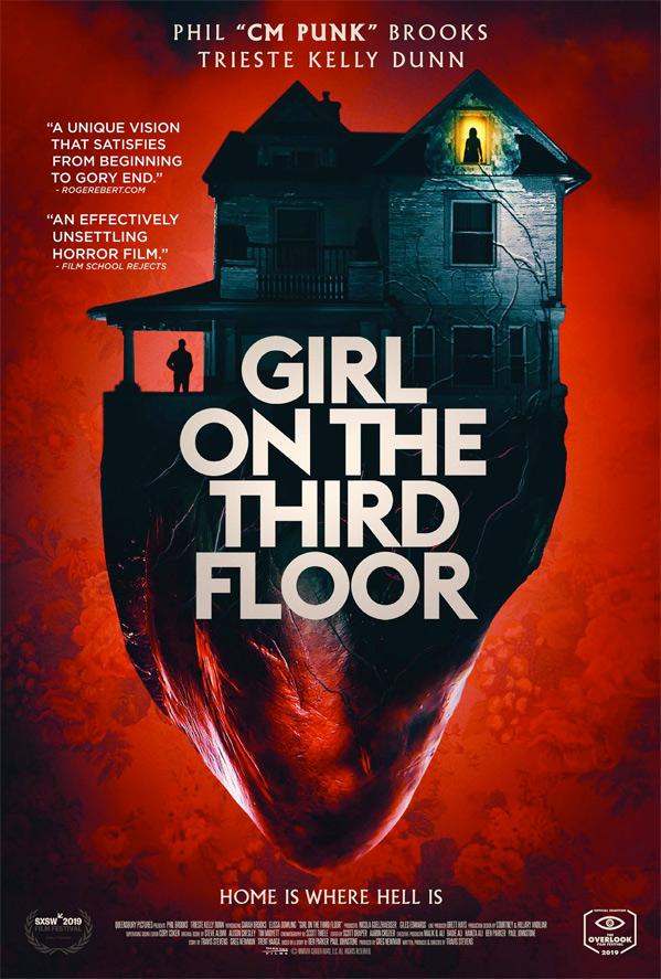 Girl on the Third Floor kapak