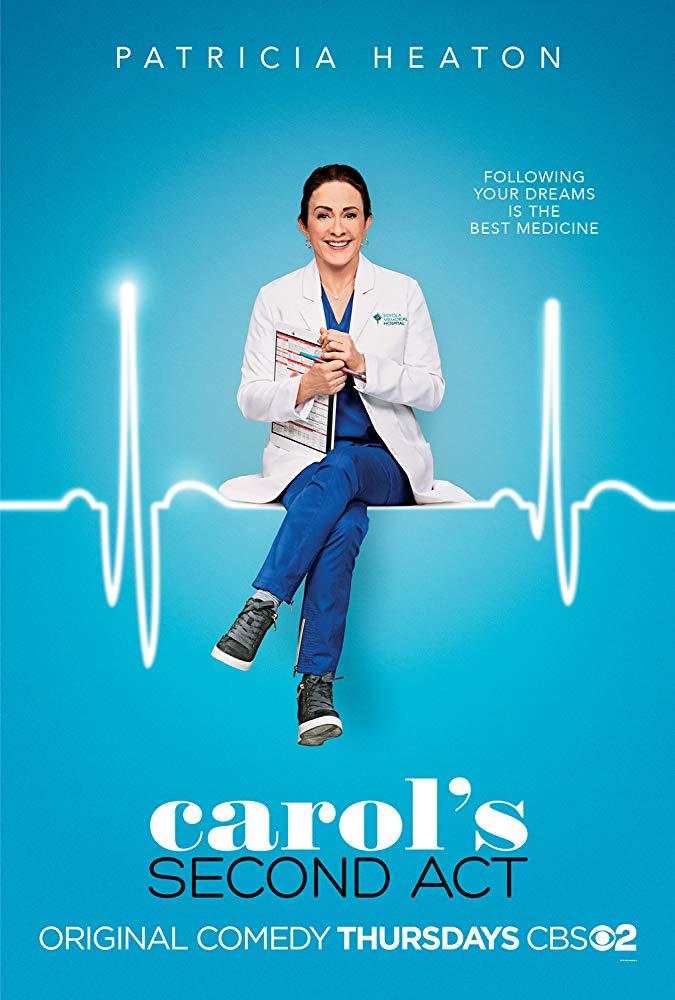 Carol's Second Act kapak