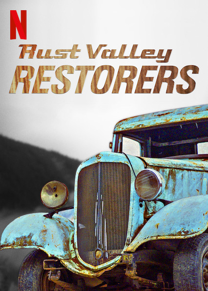 Rust Valley Restorers kapak