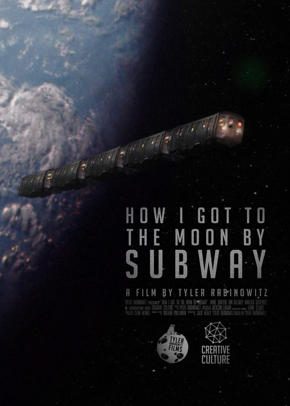 How I Got to the Moon by Subway kapak