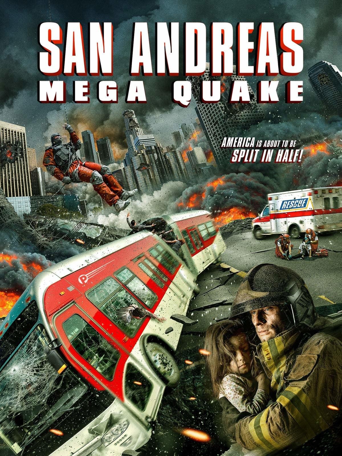 San Andreas Mega Quake kapak