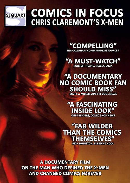 Comics in Focus: Chris Claremont's X-Men kapak