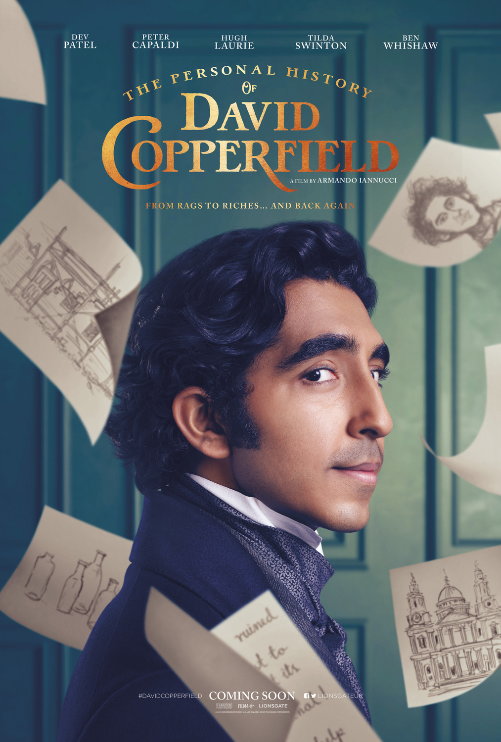 The Personal History of David Copperfield kapak