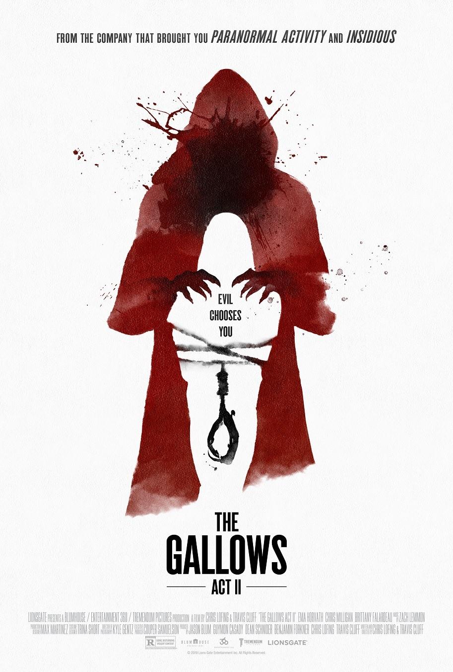 The Gallows Act II kapak