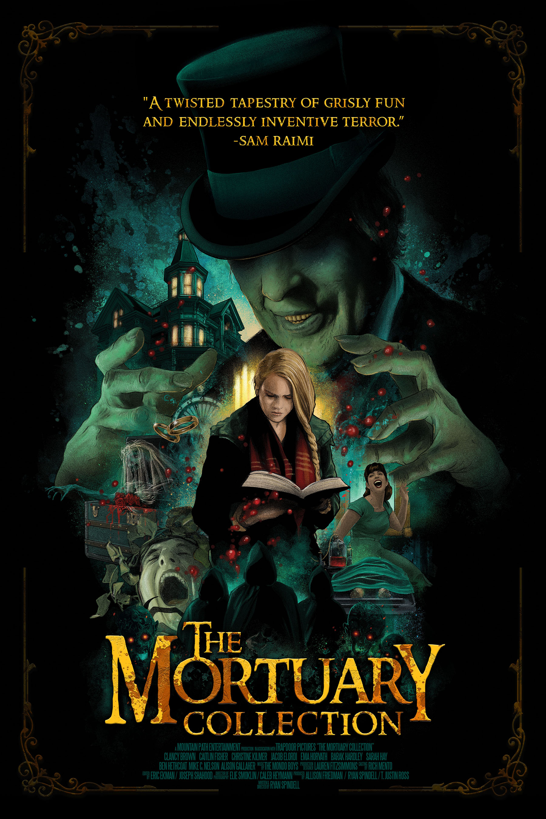 The Mortuary Collection kapak